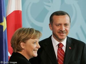 Merkel û Erdogan