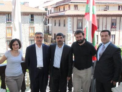 Ji çepê Zerin Türk, Fadil Bedirhanoglu, Ahmet Ertak, Asier Otegi, Sedat Tore