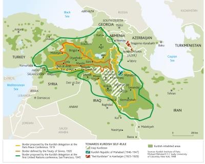 Nexşeya Kurdistan / Le Monde Diplomatique