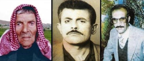 Ji çepê: Baqî Xido Cemîl Horo û Mihemed Şêxo
