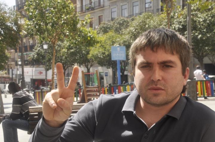 Azad Dalî li taxa Lavapiés ya Madrîdê