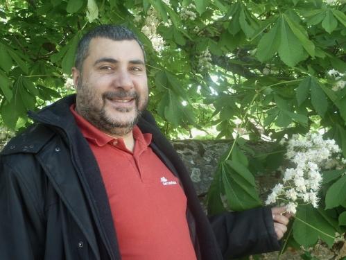 Ricardo Georges Îbrahîm li gundê Miraflores de la Sierra / Madrîd